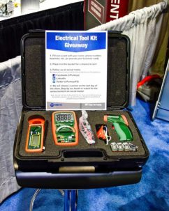 Enter to Win a free Electrical Tool Kit at Purkeys' Booth