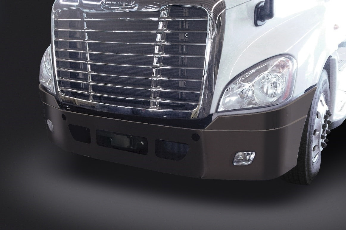 Valley Chrome Bumpers : Durable powder coated steel bumpers from valley chrome