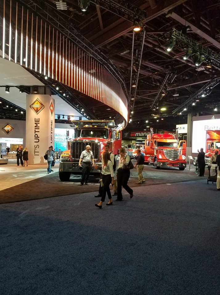 North American Commercial Vehicle Show 2017 Scores High