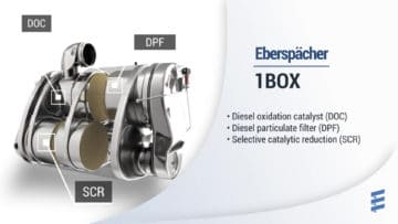 1BOX & 1LINE Aftertreatment Systems by Eberspaecher