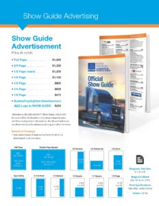 NACV Show Guide prices
